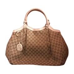 Sacs Gucci Femme Blanc, blanc cassé, écru   articles luxe - Videdressing 6a37e13b10a