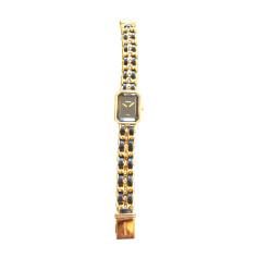 Orologio da polso CHANEL Dorato, bronzo, rame