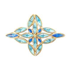 Spilla YVES SAINT LAURENT Blu, blu navy, turchese