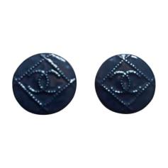 Ohrringe CHANEL Blau, marineblau, türkisblau