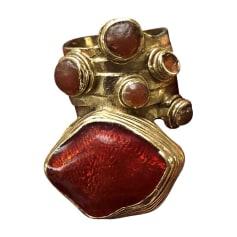 Ring YVES SAINT LAURENT Red, burgundy