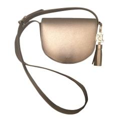 Sac en bandoulière en cuir RALPH LAUREN Doré, bronze, cuivre