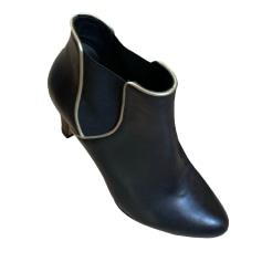 High Heel Ankle Boots BOBBIES Black