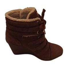 Bottines & low boots à compensés MICHAEL KORS Beige, camel