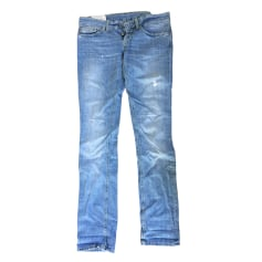 Straight Leg Jeans DONDUP Blue, navy, turquoise