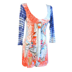 Tunic SAVE THE QUEEN Multicolor