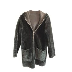 Coat SANDRO Black