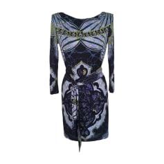 Midi Dress EMILIO PUCCI Blue, navy, turquoise