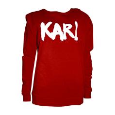 Sweatshirt KARL LAGERFELD Red, burgundy