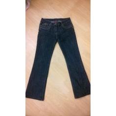 Jeans évasé, boot-cut La City  pas cher