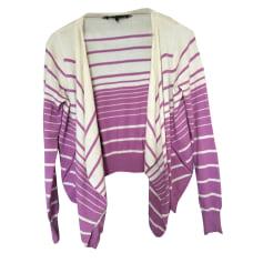Vest, Cardigan BCBG MAX AZRIA Purple, mauve, lavender