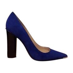Escarpins compensés BARBARA BUI Bleu, bleu marine, bleu turquoise