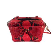 Leather Shoulder Bag ZADIG & VOLTAIRE Animal prints