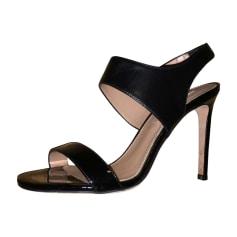 Sandales à talons HUGO BOSS Noir