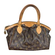 Non-Leather Handbag LOUIS VUITTON Tivoli Brown