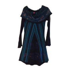 Midi Dress SAVE THE QUEEN Blue, navy, turquoise