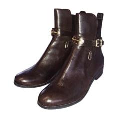 Bottines & low boots à talons MICHAEL KORS Marron