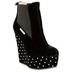 Wedge Ankle Boots ALESSANDRO DELL'ACQUA Black