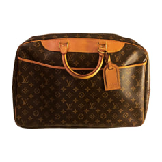 Leather Oversize Bag LOUIS VUITTON Brown