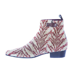 High Heel Ankle Boots LOUIS VUITTON Multicolor