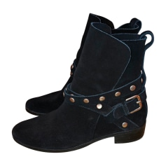 Wedge Ankle Boots SEE BY CHLOE Black