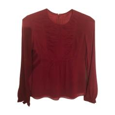 6f3a3e4e213e Hauts Femme Soie Rouge, bordeaux de marque   luxe pas cher ...