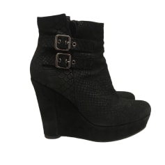 Wedge Boots THE KOOPLES Black