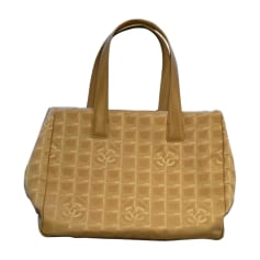 Non-Leather Handbag CHANEL Beige, camel