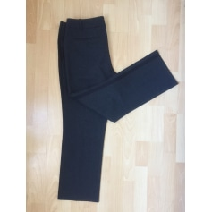 Straight Leg Pants ZADIG & VOLTAIRE Gray, charcoal