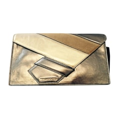Leather Clutch KARL LAGERFELD Multicolor