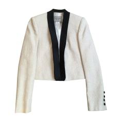 Jacket LANVIN White, off-white, ecru