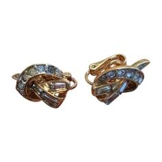 Ohrringe NINA RICCI Gold, Bronze, Kupfer