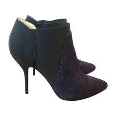 High Heel Ankle Boots JIMMY CHOO Blue, navy, turquoise