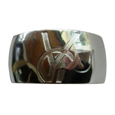 Armband YVES SAINT LAURENT Silberfarben, stahlfarben