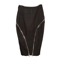 Midi Skirt MAISON MARTIN MARGIELA Black
