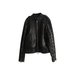 Blousons en cuir Homme de marque   luxe pas cher - Videdressing 2c47d76d961
