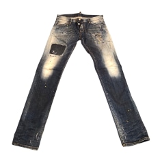 Jeans Dsquared Homme occasion   articles luxe - Videdressing 5e07f9e0b01