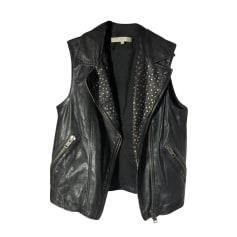 Leather JacketArticles vêtement tendance de Sandro Women HDYWE92Ie