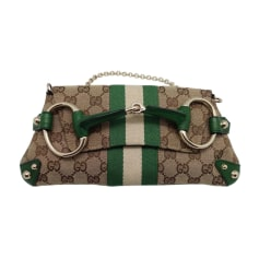 df4541e94bb2 Sacs à main en cuir Gucci Femme   articles luxe - Videdressing
