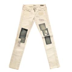 Pantalons slim, cigarette Guess Femme   articles tendance - Videdressing d758085b936