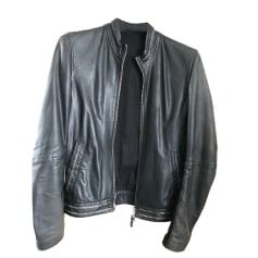 Blousons en cuir Homme de marque   luxe pas cher - Videdressing cca8d1424e1c