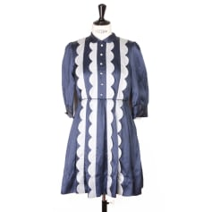 9da435e8cc7 Robe mi-longue T.B.A - TO BE ANNOUNCED Bleu