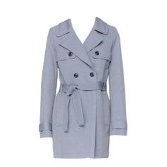 amp; Ikks Femme Marine Bleu Turquoise Manteaux Vestes Bleu 8qdtwx8EF