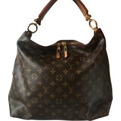 Sac porté épaule ou main Louis Vuitton Sheerwood en cuir vernis monogram  bordeaux Louis Vuitton ... 13cee728327