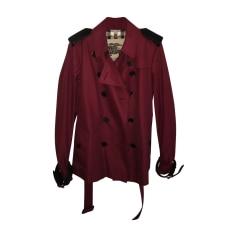 Imperméables, trenchs Femme Rouge, bordeaux de marque   luxe pas ... 68b10f9101a
