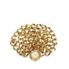 Wide Belt CHANEL Gold