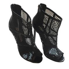 Bottines & low boots à talons GIANMARCO LORENZI Noir