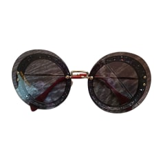 Sunglasses MIU MIU Silver