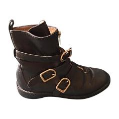 Bottines & low boots plates SONIA RYKIEL Noir