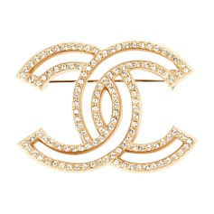 7ef30fef91475 Bijoux fantaisie Chanel Femme occasion   articles luxe - Videdressing
